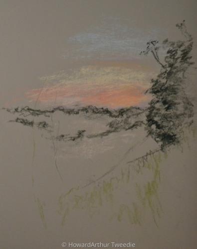 argenton-pastel quick sketch105
