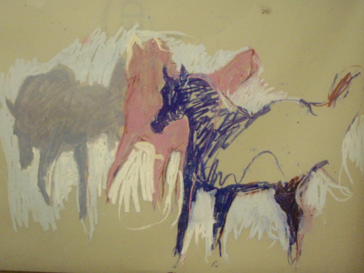 Horse Trio (large view)