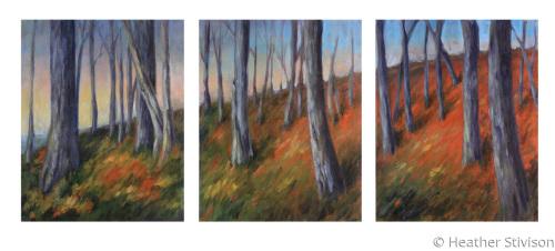 Vermont Autumn Triptych