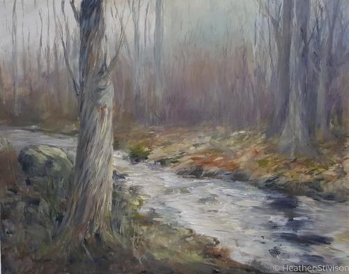 Winter Morning, Destruction Brook