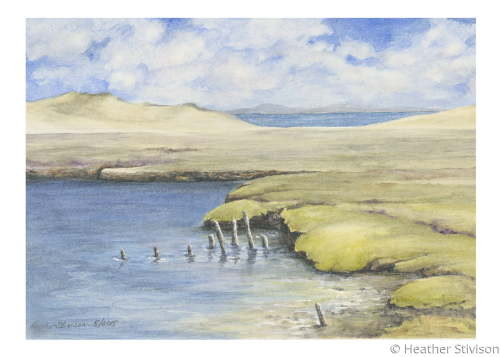 Giclee Card-Coastal Erosion 2