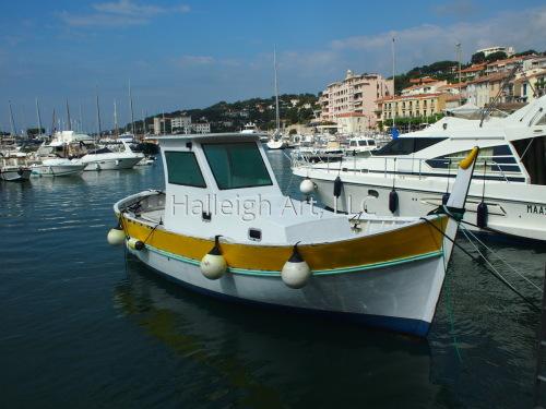 Yellow-Striped Boat