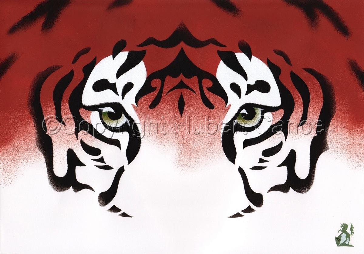 """""""Bengal Tiger"""" (large view)"""