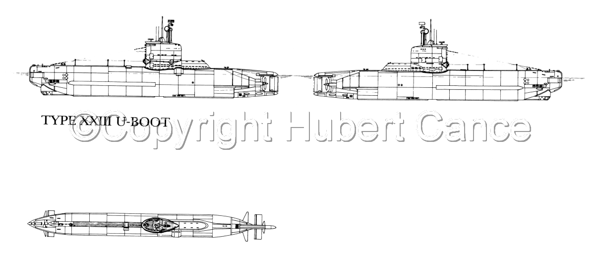 Typ.XXIII U-Boot (large view)