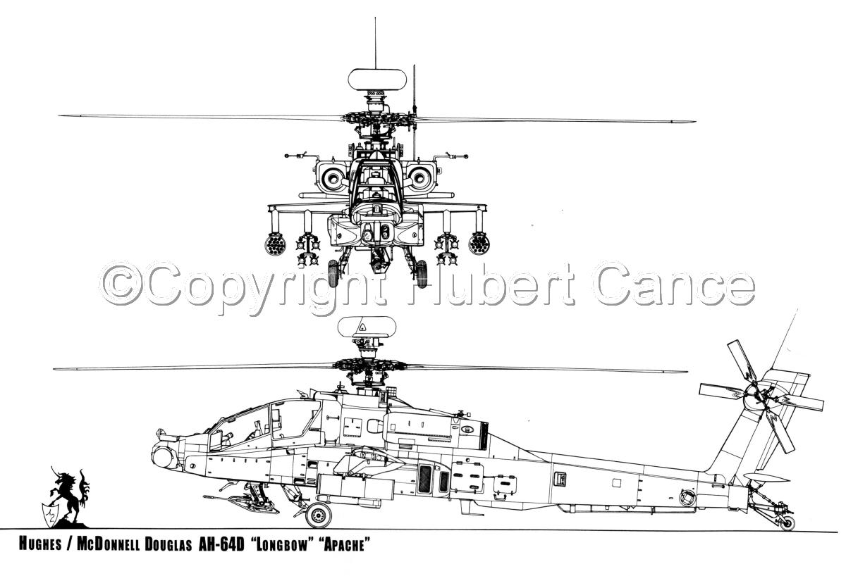 Hughes AH-64D Longbow Apache (large view)
