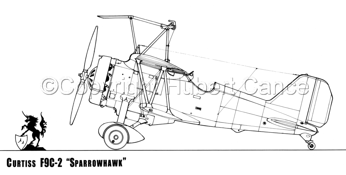 "Curtiss F9C-2 ""Sparrowhawk"" (large view)"