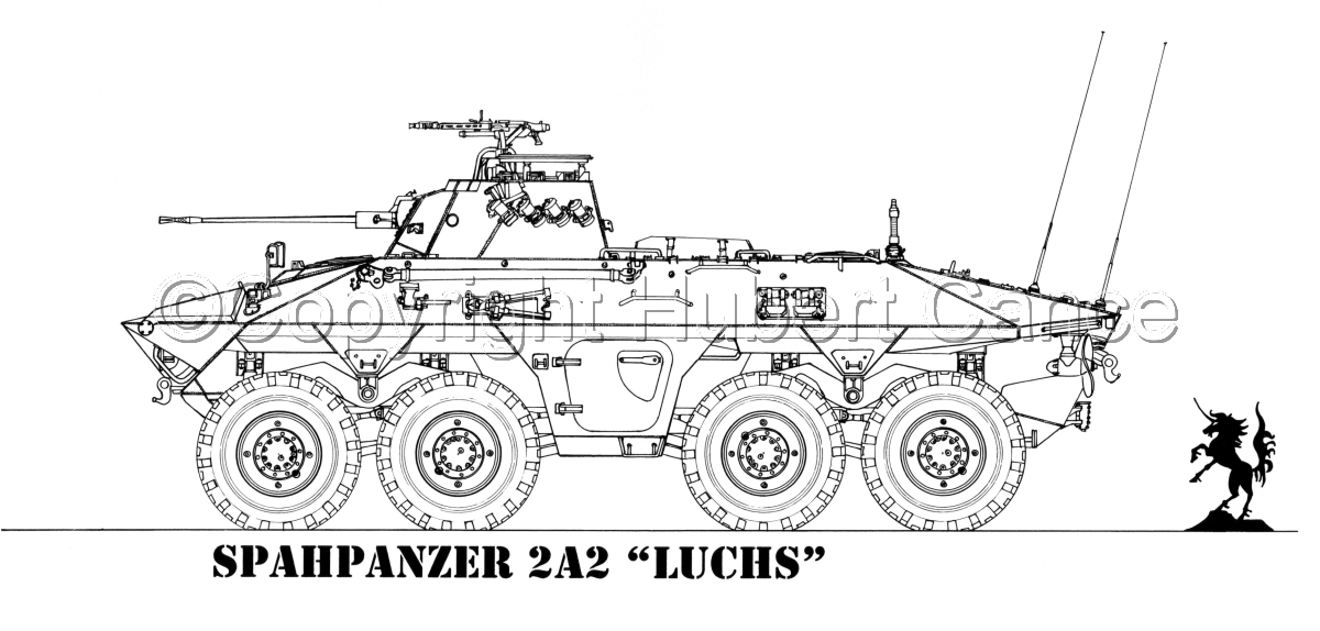 "Spahpanzer 2A2 ""Luchs"" (large view)"