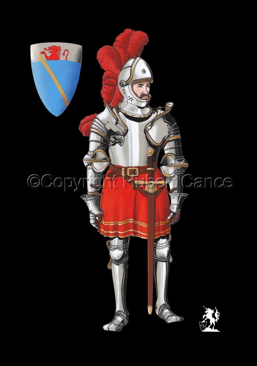 Pierre III Terrail, Knight of Bayard (1524) #1.2 (large view)