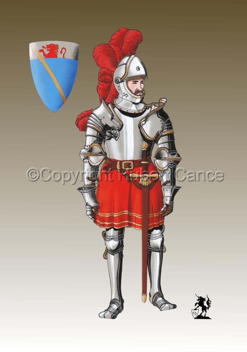 Pierre III Terrail, Knight of Bayard (1524) #1.3 (large view)
