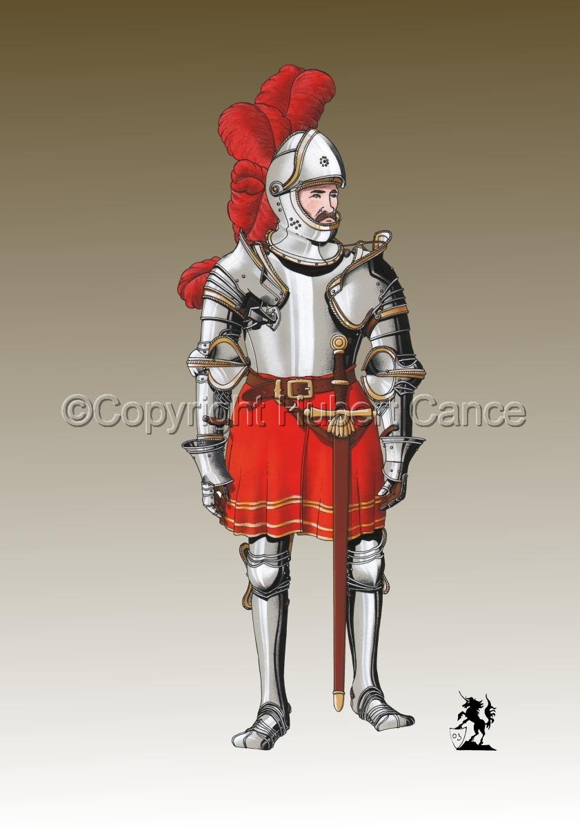 Pierre III Terrail, Knight of Bayard (1524) #2.3 (large view)