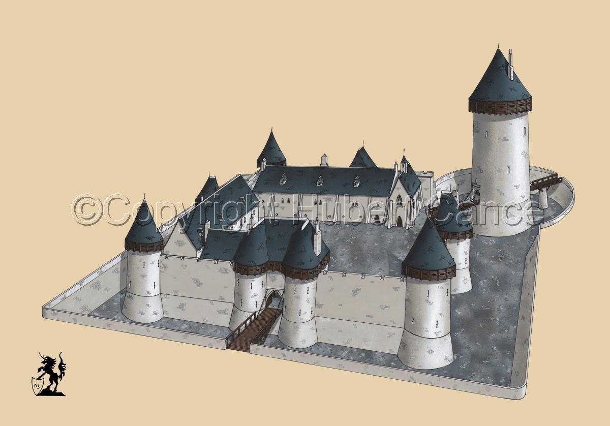 Chateau de Dourdan #2 (large view)