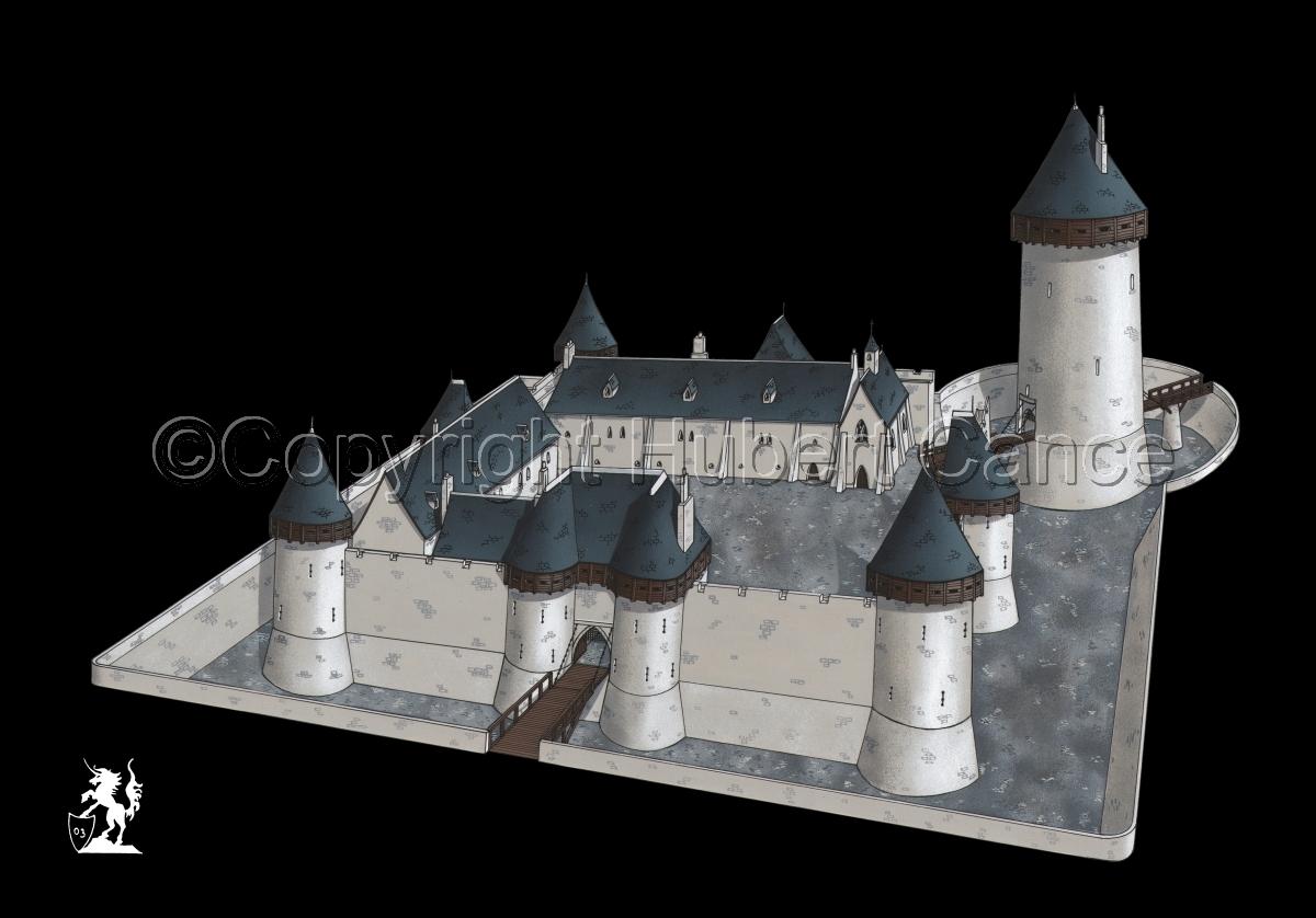 chateau de Dourdan #3 (large view)