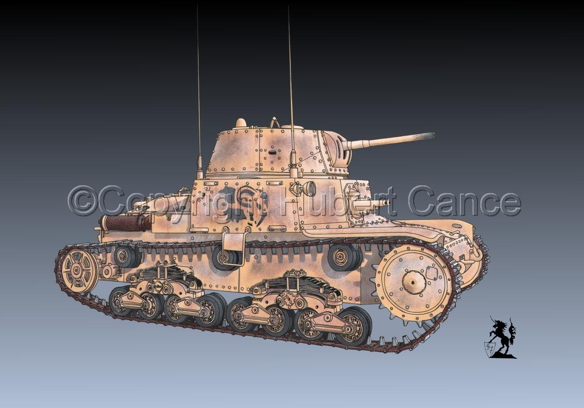M13/40 medium Tank #1.3 (large view)