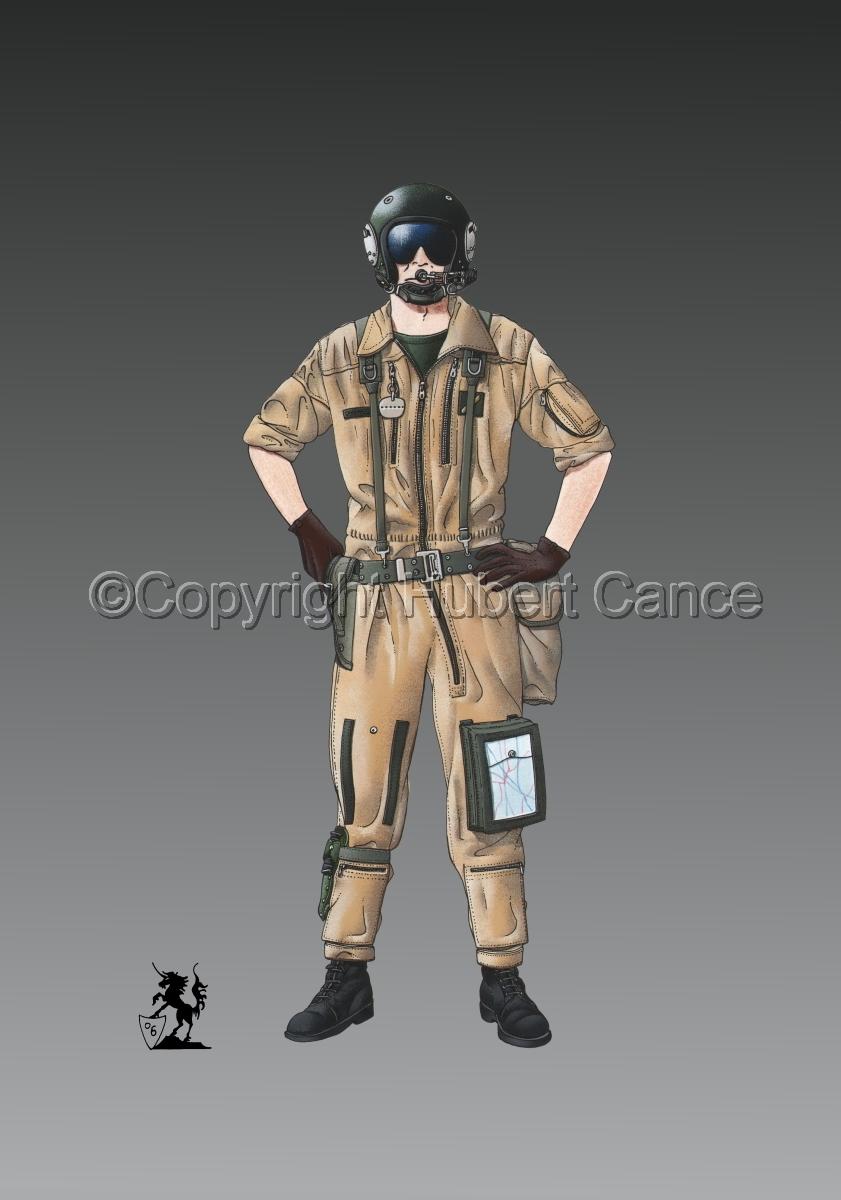 French ALAT Pilot (Gulf War 1) #1 (large view)