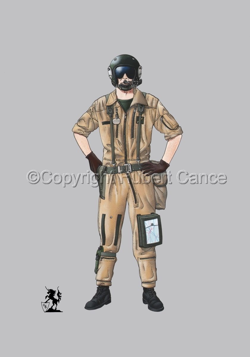French ALAT Pilot (Gulf War 1) #2 (large view)