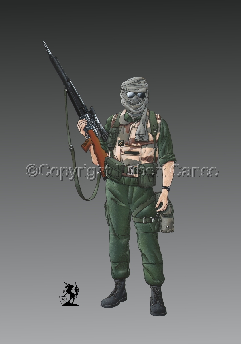 Foreign Legion Sniper (Gulf War 1) #1 (large view)