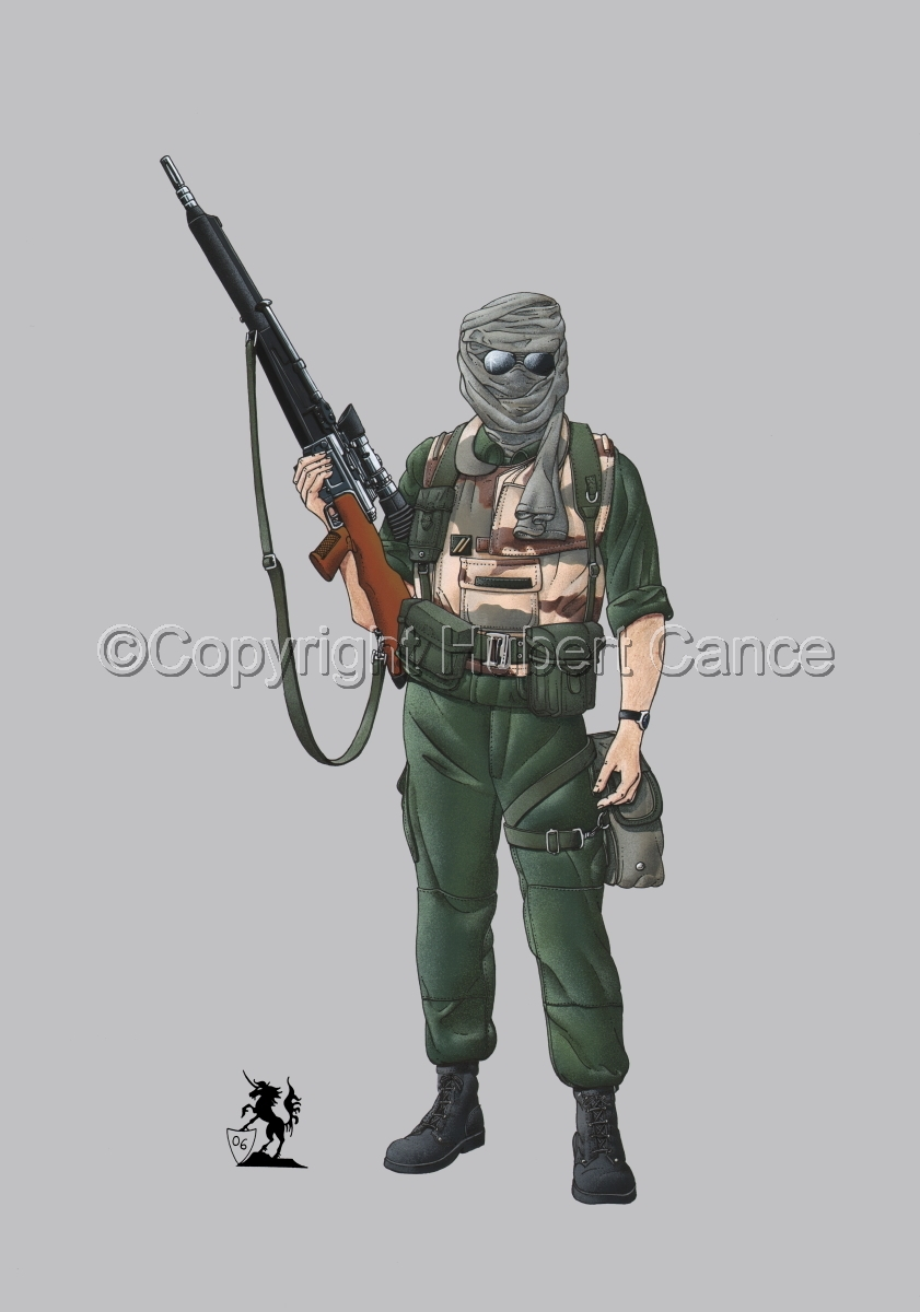 Foreign Legion Sniper (Gulf War 1) #2 (large view)