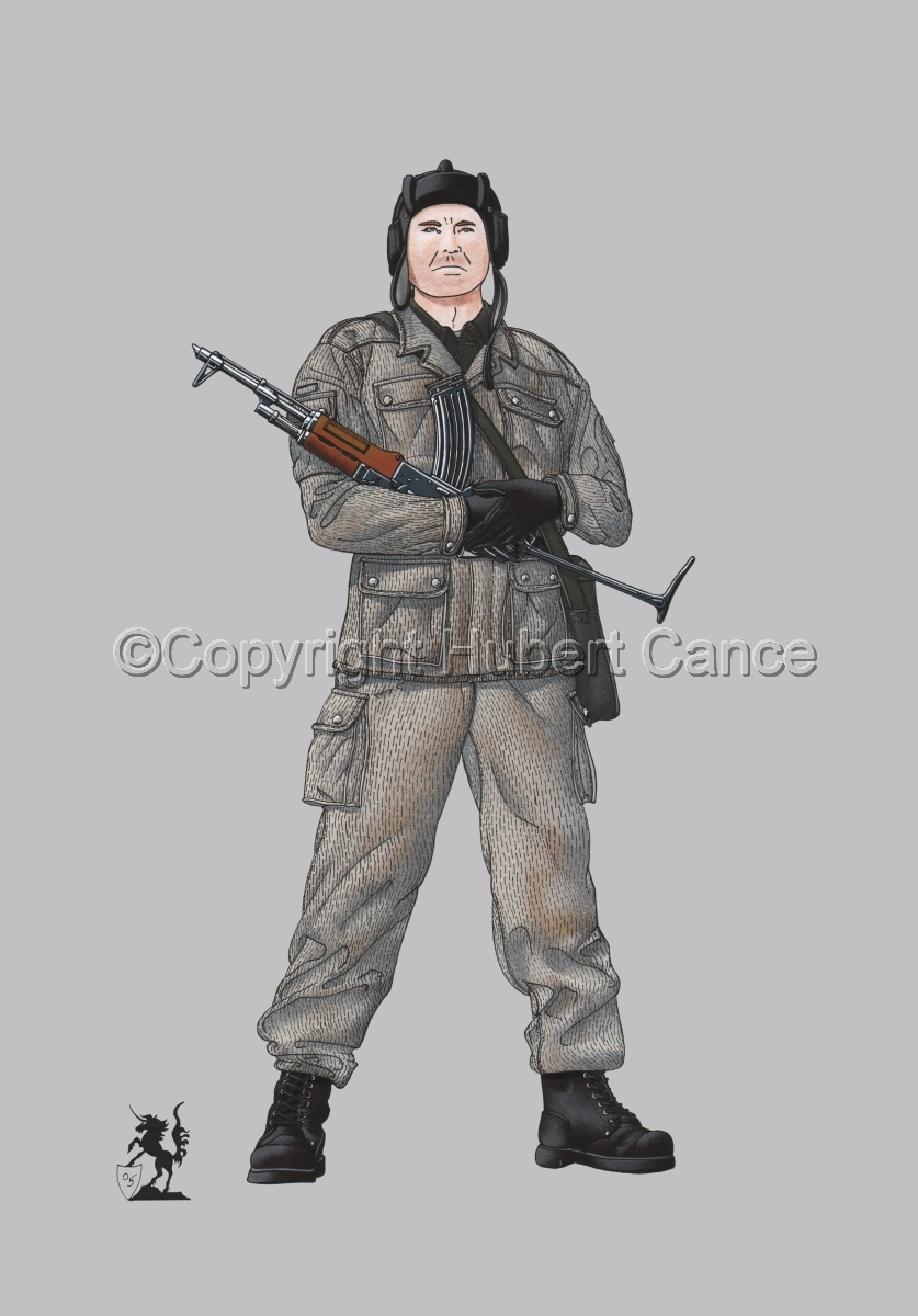 East German Tank Crewman #2 (large view)