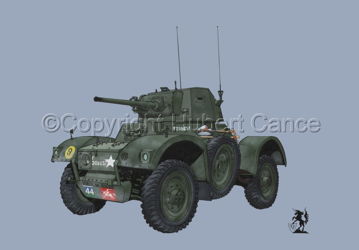 Daimler Mk.I Armoured Car #1 (large view)