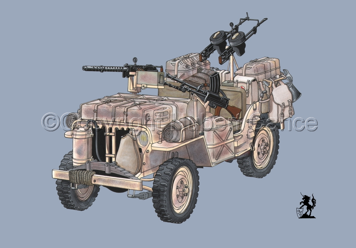 Jeep LRDG #1 (large view)