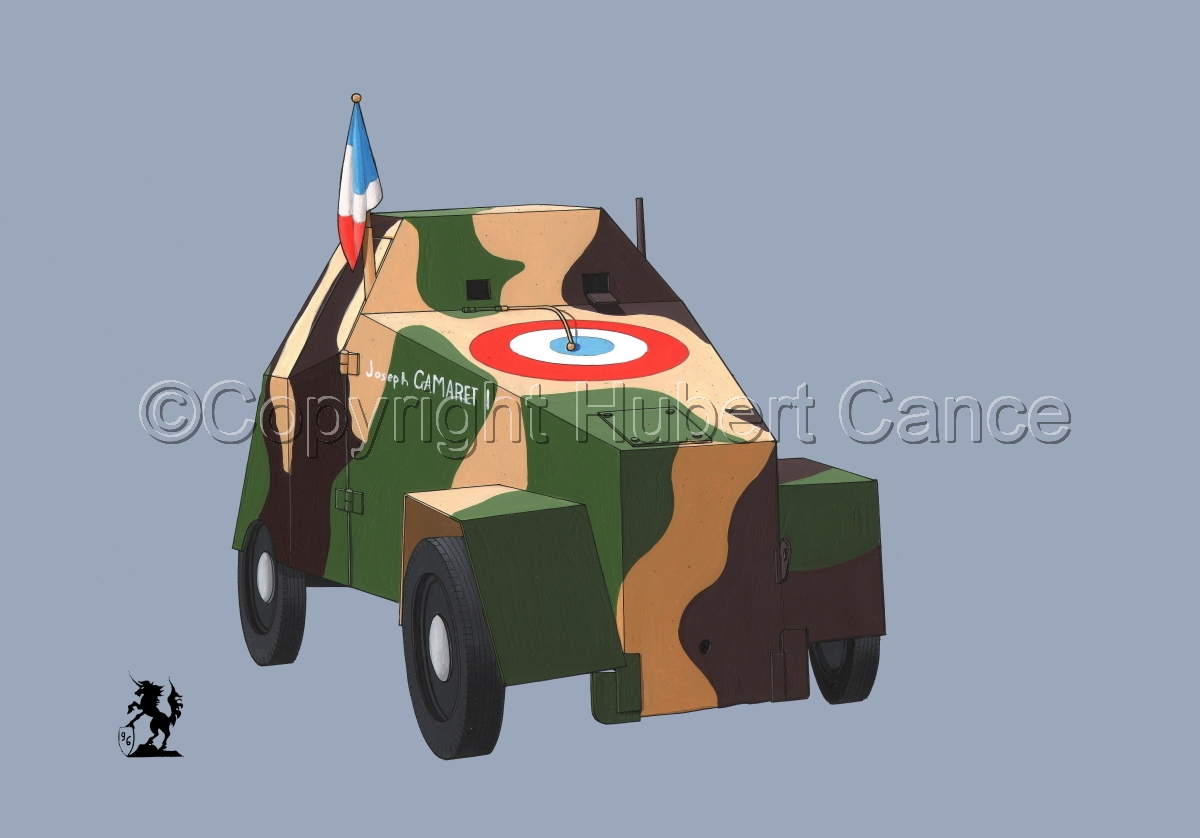Simca 5 Blindee (Improvised Armored Car) #1 (large view)