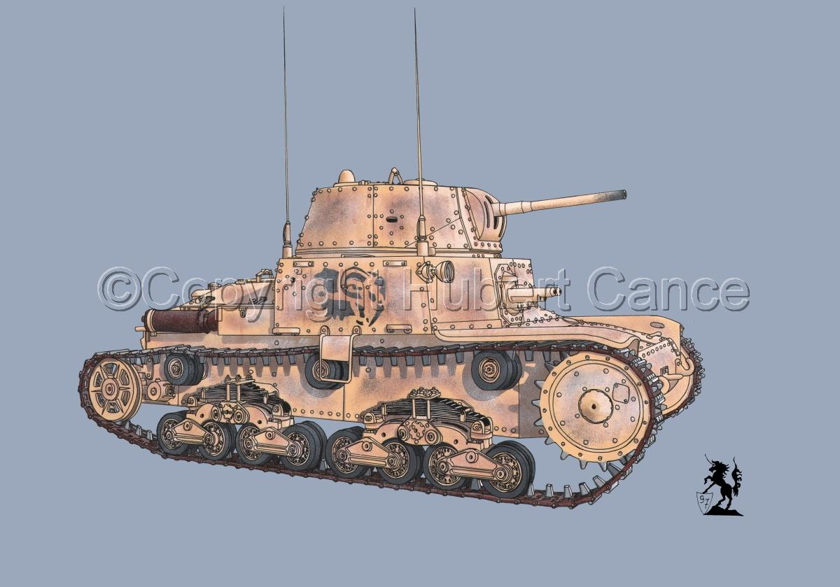 M13/40 medium Tank #1.2 (large view)