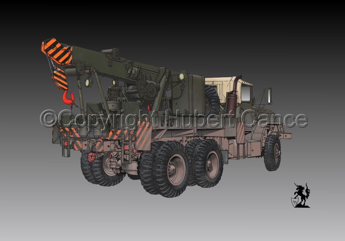 AM M936 Recovery Truck #1.3 (large view)
