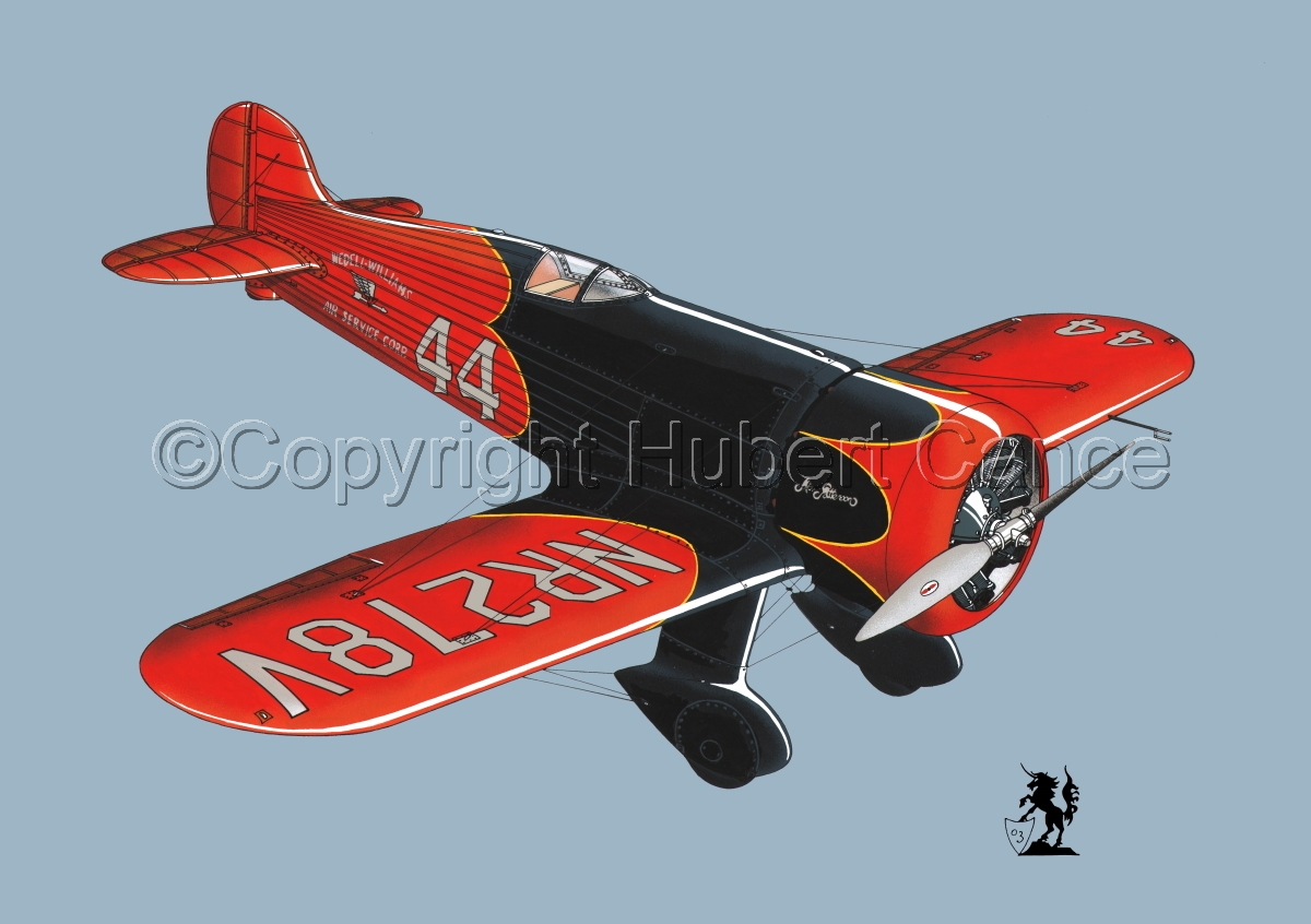 Wedell Williams R44 Racer #2.2 (large view)