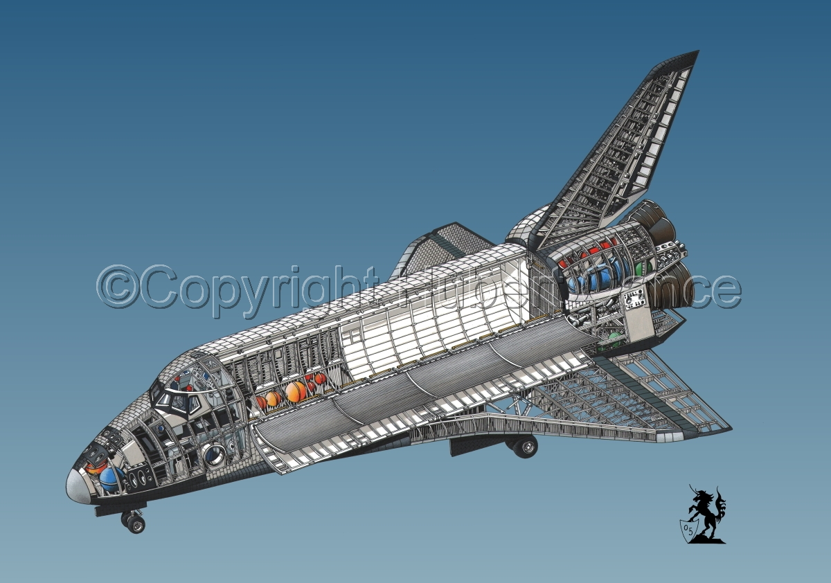 Rockwell Space Shuttle #1.3 (large view)