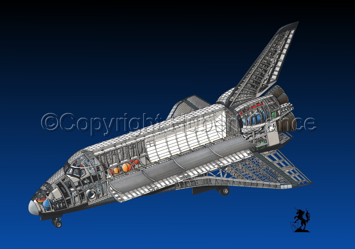 Rockwell Space Shuttle #2.2 (large view)