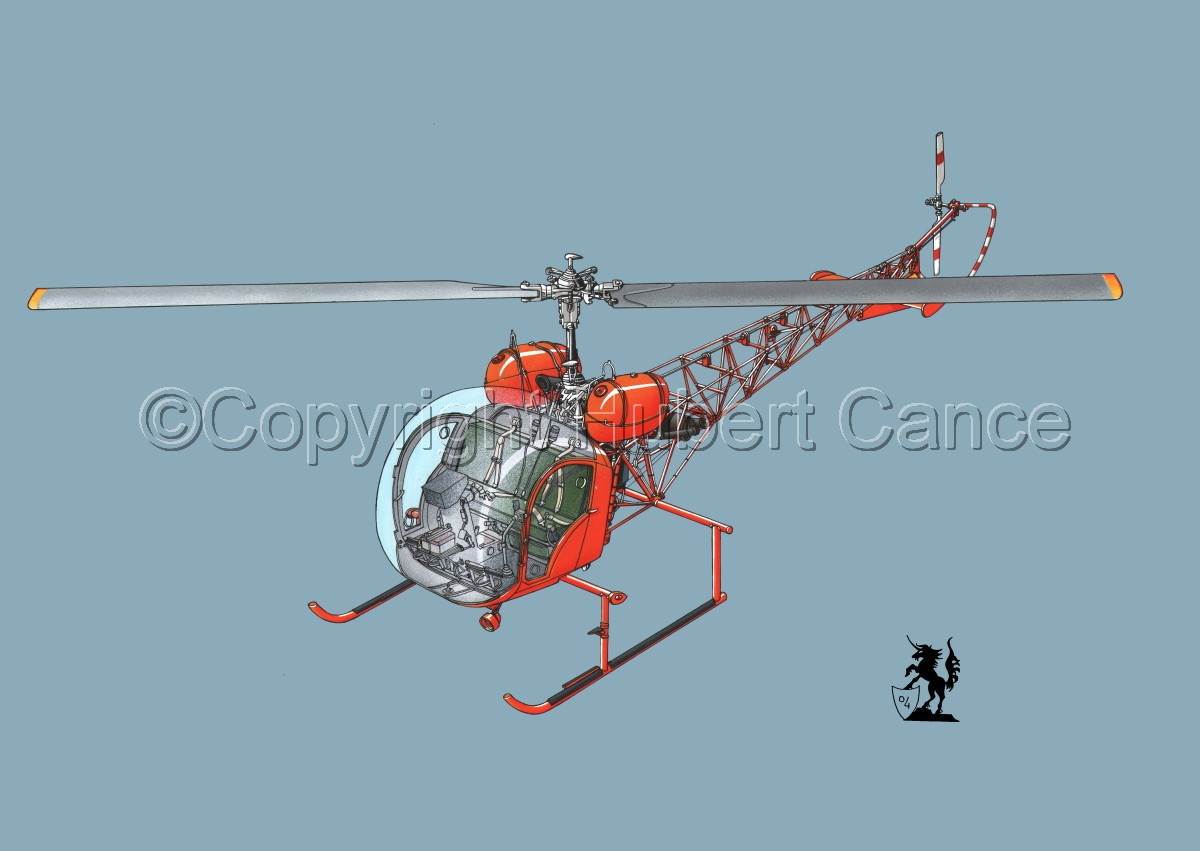 Bell 47 G-4 #1 (large view)