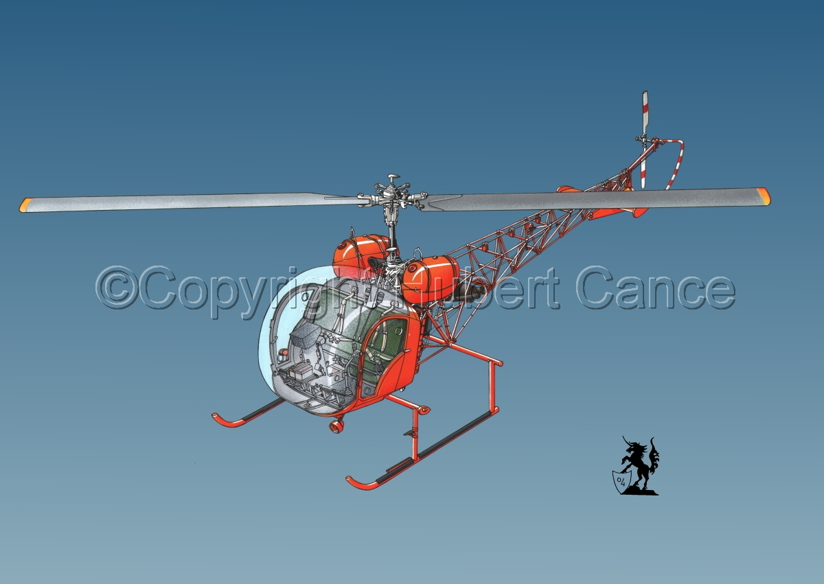 Bell 47 G-4 #2 (large view)