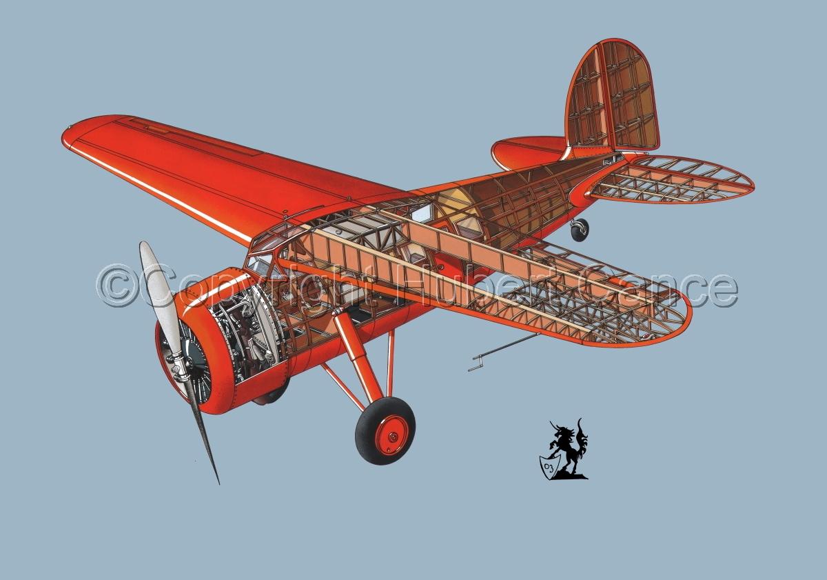 """Lockheed """"Vega"""" #1.2 (large view)"""
