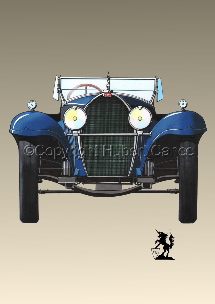 Bugatti Type 50 #1.3 (large view)