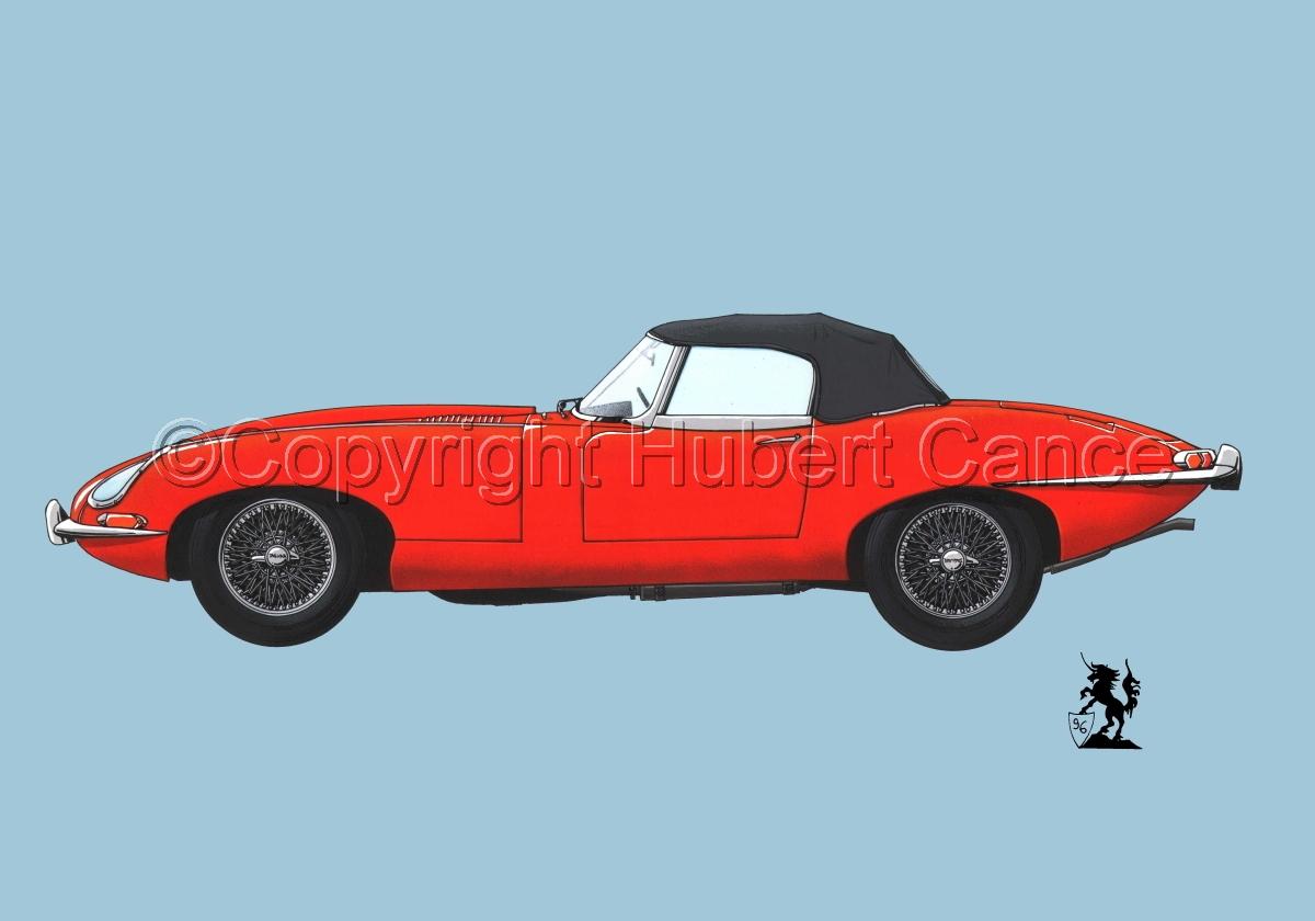 Jaguar Type E #1.2 (large view)