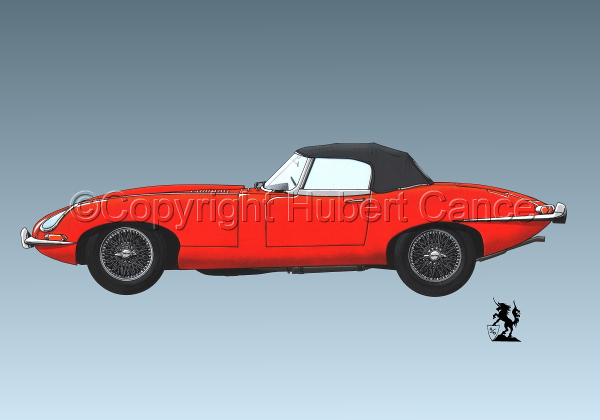 Jaguar Type E #1.3 (large view)