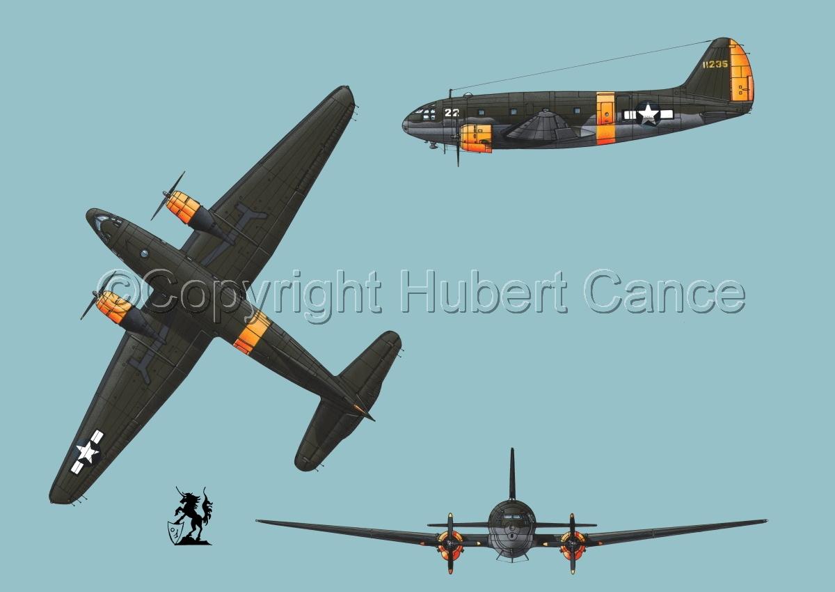 "Curtiss C-46A-15 CU ""Commando"" #2 (large view)"