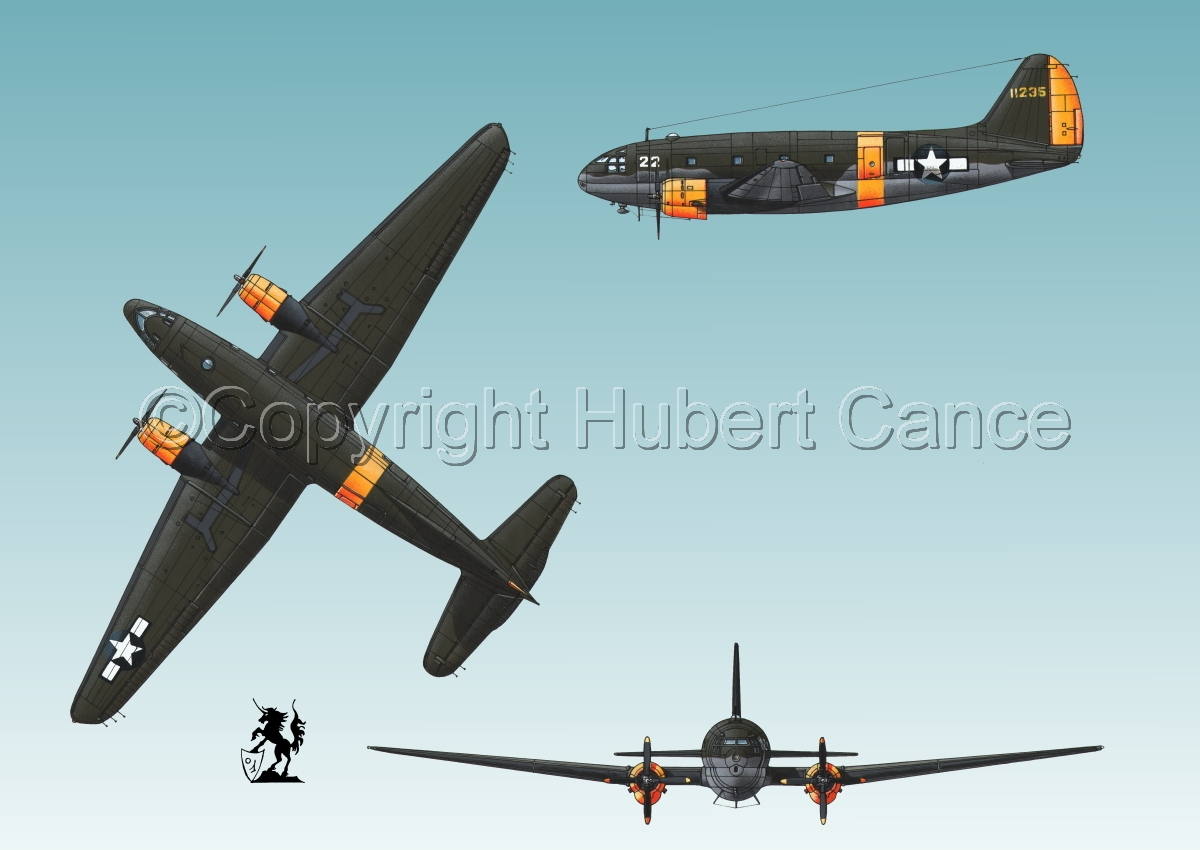"Curtiss C-46A-15 CU ""Commando"" #3 (large view)"