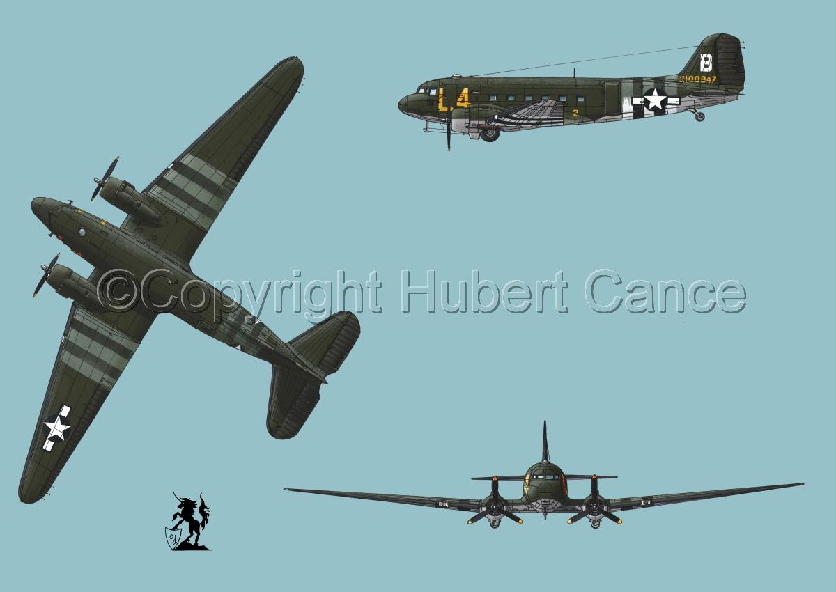 """Douglas C-47 """"Skytrain"""" #2 (large view)"""