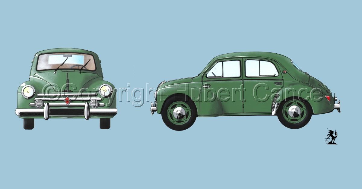 Renault 4CV 2-Views #2 (large view)