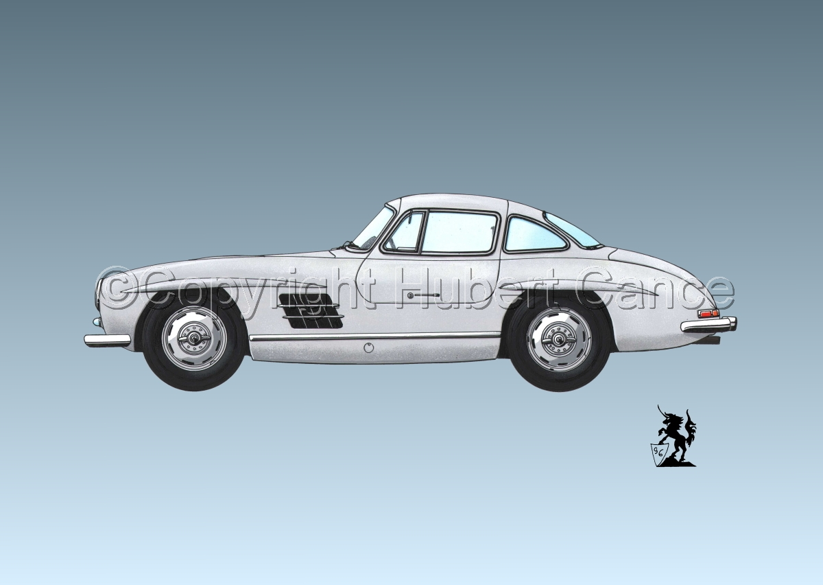 Mercedes 300SL #2.3 (large view)