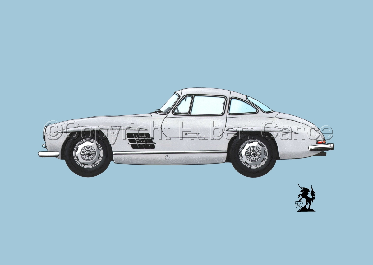 Mercedes 300SL #2.2 (large view)