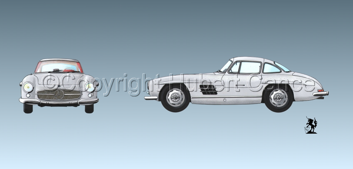 Mercedes 300SL 2-Views #3 (large view)