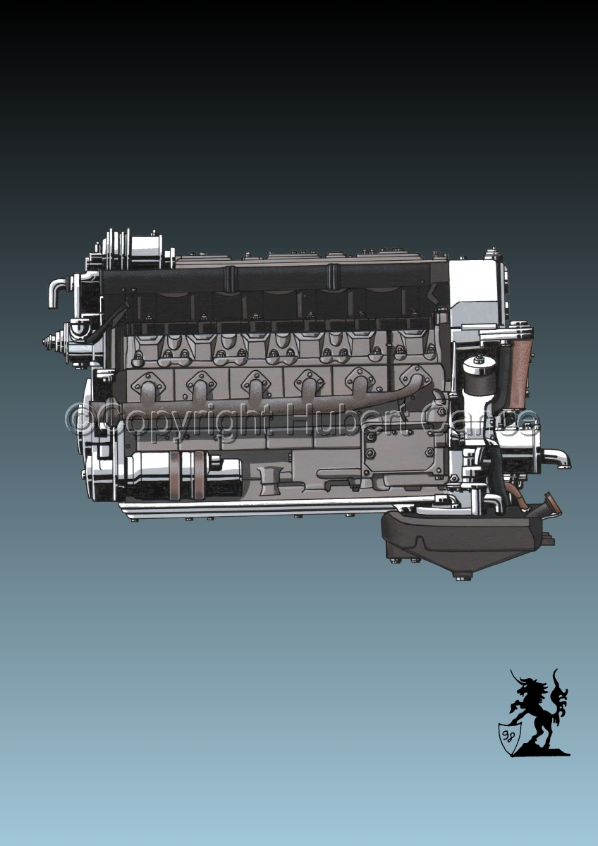 Tatra V10 Engine #2 (large view)