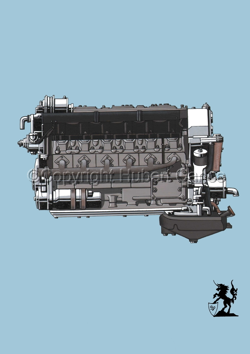Tatra V10 Engine #1 (large view)