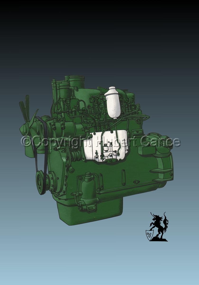 Berliet MDX14 Engine #2 (large view)