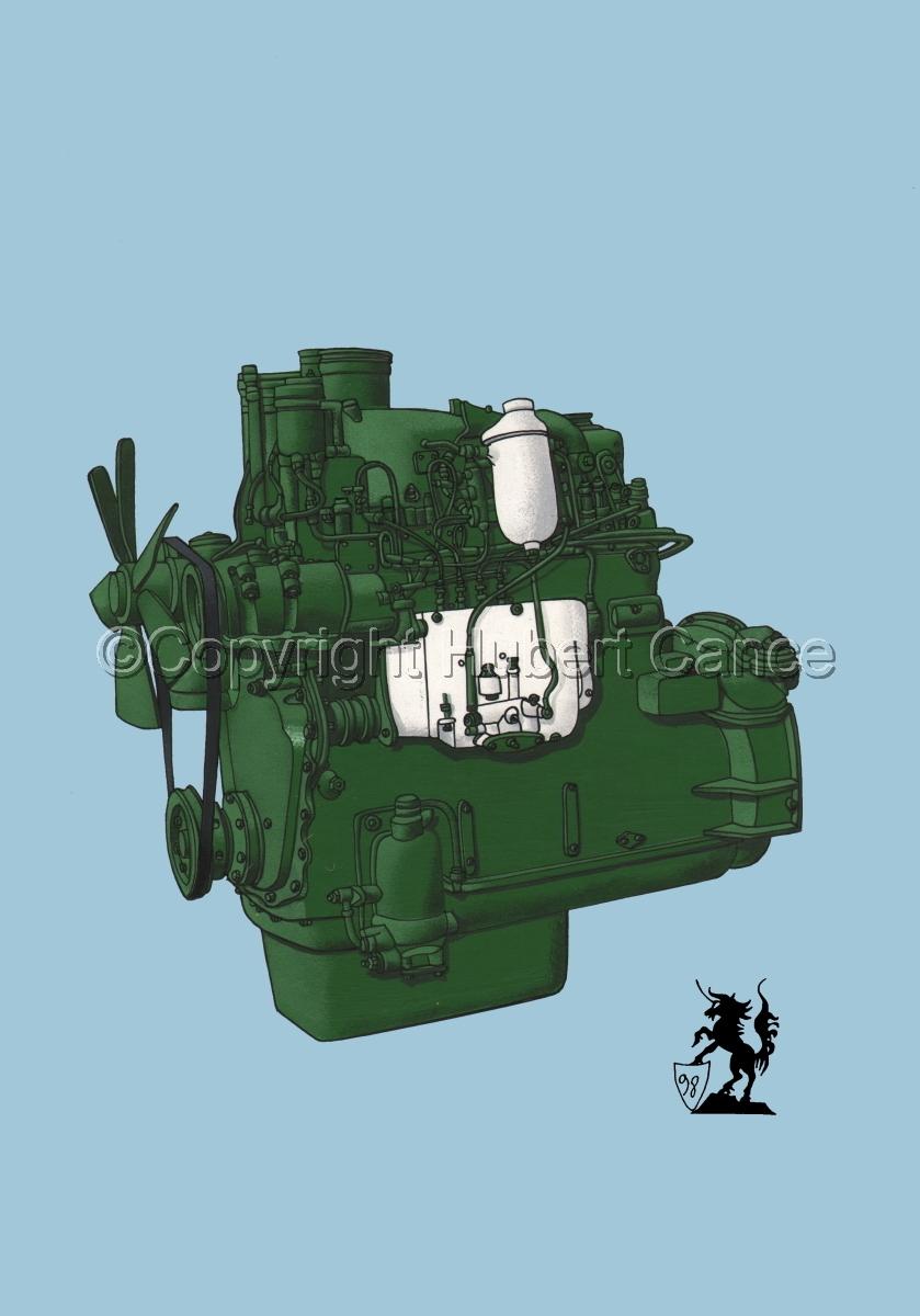 Berliet MDX14 Engine #1 (large view)