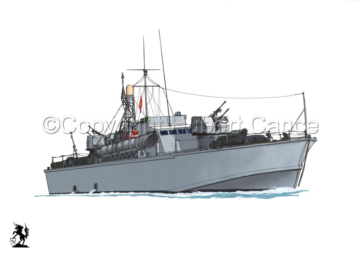 North Vietnamese P6 Torpedo Boat #1 (large view)