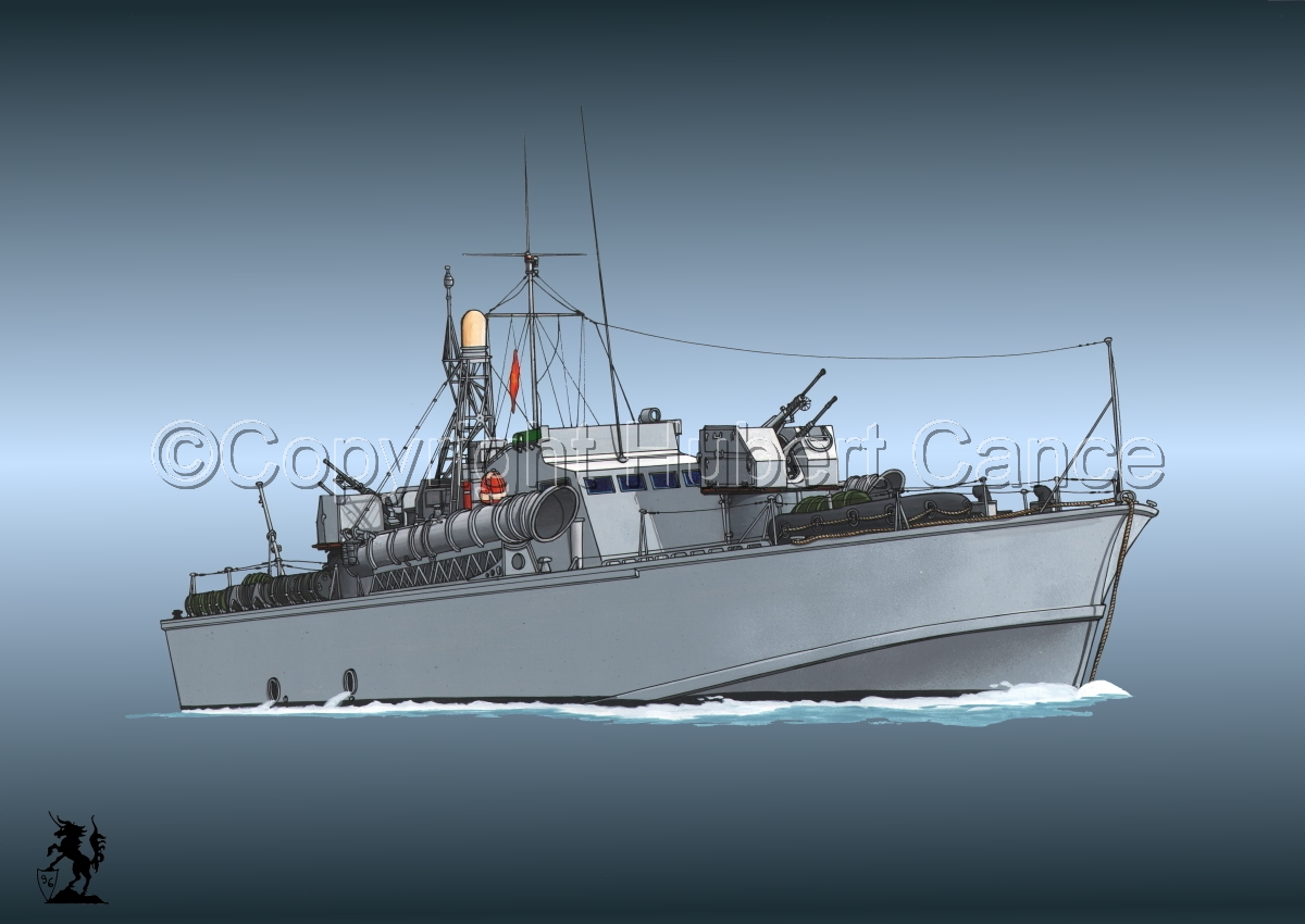 North Vietnamese P6 Torpedo Boat #4 (large view)