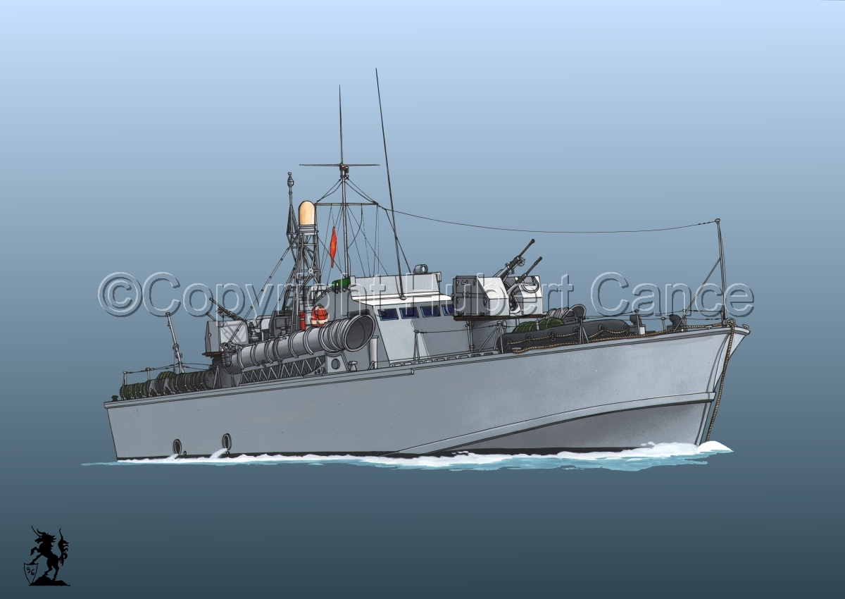 North Vietnamese P6 Torpedo Boat #3 (large view)